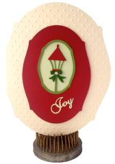 "20 Handcrafted Holiday Greeting Cards ""Joy"""