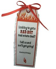 20 Handcrafted Red Hot Real Estate Deal Pop By Gifts