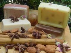 Almond Bath Bar Three Bars