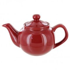 Burgundy 2 cup Tea Pot