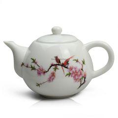 Peach Blossom Porcelain Tea Pot