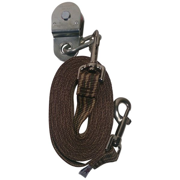Beast-Master Polypropylene Replacement Lead Line w/Pulley-Woodland Camo