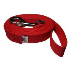 Beast-Master 1 Inch Polypropylene Dog Leash FPS-PP100 Firehouse Red