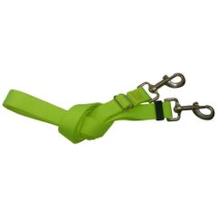 Screamin' Yellow Nylon Adjustable Standard Duty Replacement Lead Line Freedom Aerial Dog Runs