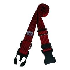 Beast-Master Nylon Dog Collar Plastic Hardware-Red
