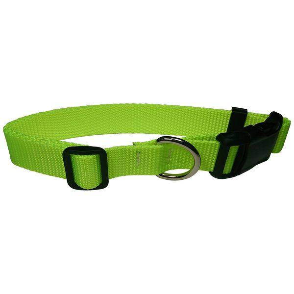 Beast-Master Fluorescent Dog Collar Screamin' Yellow