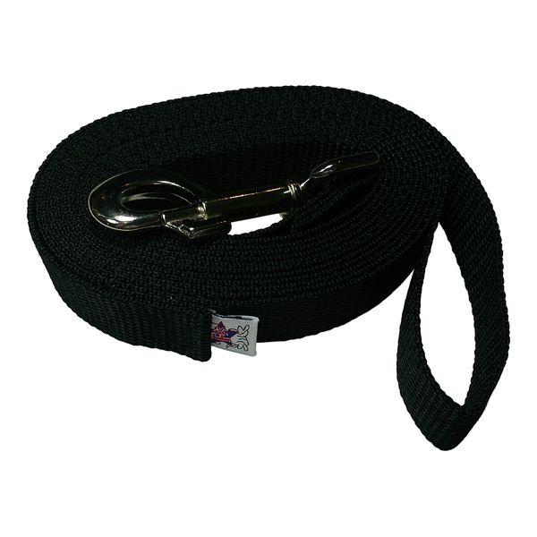 Beast-Master 1 Inch Polypropylene Dog Leash FPS-PP100 Black