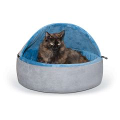 Self-Warming Kitty Bed Hooded