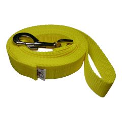 "Beast-Master 3/4"" Inch Polypropylene Dog Leash FPS-PP100 Sundrop Yellow"