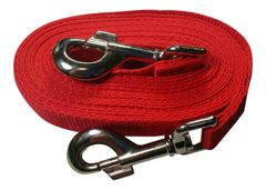 Beast-Master Polypropylene Dog Tether Firehouse Red