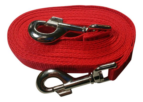 Beast-Master Polypropylene Dog Tether Firehouse Red