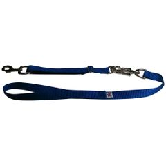 Tactical Quick Release Heavy Duty Panic Snap Adjustable Dog Leash Royal Blue