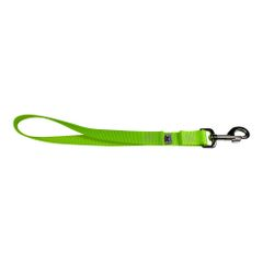 BM Nylon Dog Training Lead/Leash 12 Inch Screamin' Yellow