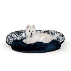 Plush Pet Bolster Sleeper