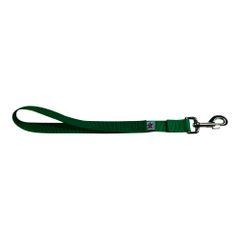 BM Nylon Dog Training Lead/Leash 12 Inch Shamrock Green