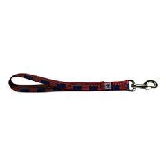 BM Nylon Dog Training Lead/Leash 12 Inch USA Flag