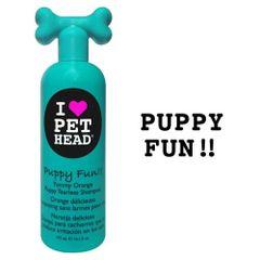 Puppy Fun Tearless Shampoo Yummy Orange 16oz