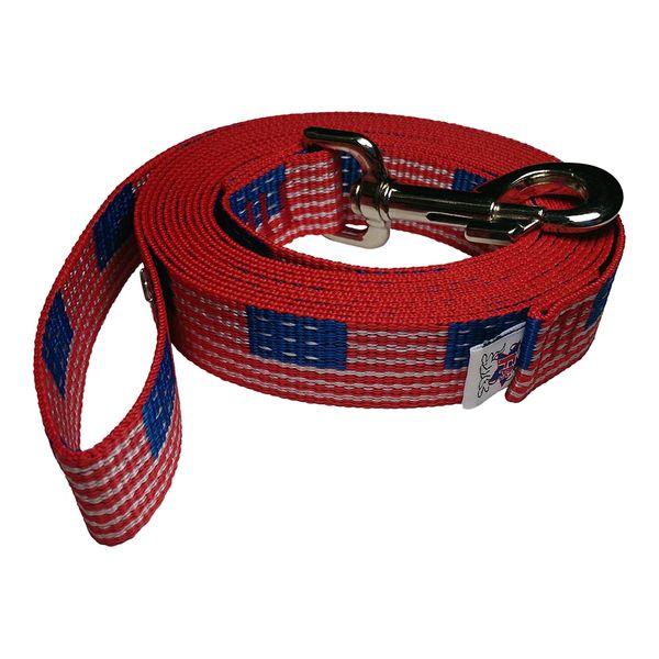 Beast-Master 1 Inch Polypropylene Dog Leash FPS-PP100 USA Flag