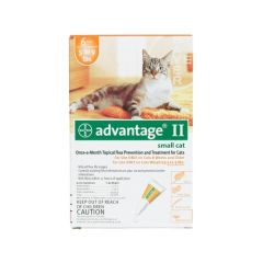 Flea Control for Cats 1-9 lbs 6 Month Supply