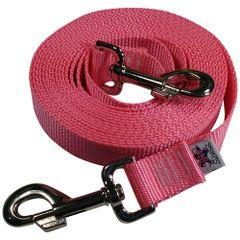 Beast-Master Nylon Dog Tether Pink