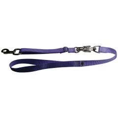 Tactical Quick Release Heavy Duty Panic Snap Adjustable Dog Leash Lavender