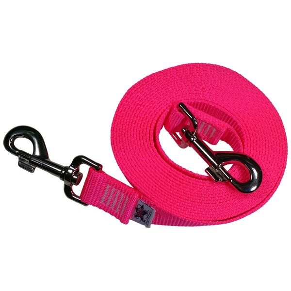 Beast-Master Nylon Dog Tether Hot Pink (NEON)