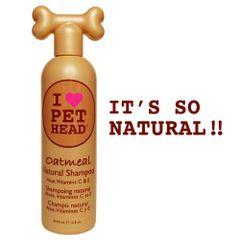 Oatmeal Natural Shampoo 12oz