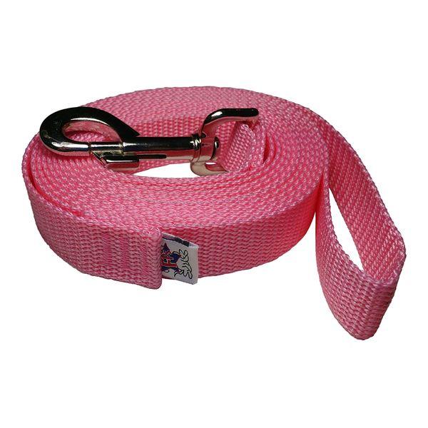 Beast-Master 1 Inch Polypropylene Dog Leash FPS-PP100 Pink