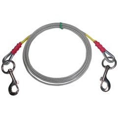 Beast-Master Premium Dog Tie Out Cable Large Dogs
