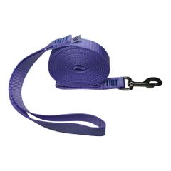 "Beast-Master 3/4"" Nylon Dog Leash Lavender"