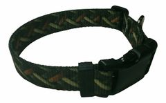 Beast-Master Polyester Dog Collar Multi-Color Weave