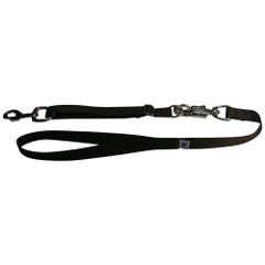 Tactical Quick Release Heavy Duty Panic Snap Adjustable Dog Leash Brown