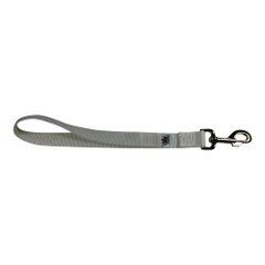 BM Nylon Dog Training Lead/Leash 12 Inch Hyper White