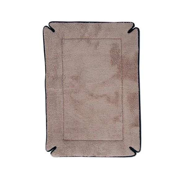 "K&H Pet Products Memory Foam Dog Crate Pad Mocha 14"" x 22"" x 0.5"""