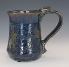 Blue Brown Mug