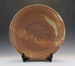 Bowl with Carved Indian Totem