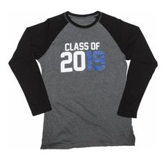 Class of 2019 Men's Raglan Long Sleeve T-Shirt