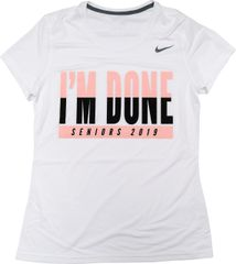 Nike Women's I'm Done T-Shirt with Dri-Fit Technology