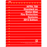 NFPA-750(15) Standard on Water Mist Fire Protection Systems