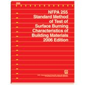 NFPA-255(06): Standard Method of Test of Surface Burning Characteristics of Building Materials
