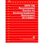 NFPA-70B-2013: Recommended Practice for Electrical Equipment Maintenance