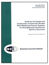 ACI-440.7R-10 Guide for Design & Construction of Externally Bonded FRP Systems for Strengthening Unreinforced Masonry Structures
