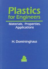 PLASTICS-00116 1993 Plastics for Engineers: Materials, Properties, Applications, (Hanser)