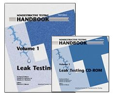 ASNT-0141WCD-1995-2000 Nondestructive Testing Handbook, Third Edition: Volume 1, Leak Testing (Book with CD-Rom)