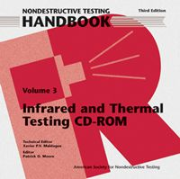 ASNT-0143CD 2001 ASNT Nondestructive Testing Handbook, Third Edition: Volume 3, Infrared and Thermal Testing (CD-ROM only)