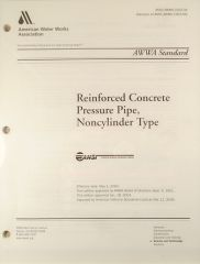 ANSI/AWWA-C302-04 Standard for Reinforced Concrete Pressure Pipe, Noncylinder Type (Printed Copy)