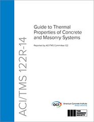 ACI-122R-14 Guide to Thermal Properties of Concrete and Masonry Systems