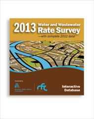 AWWA-54008 2013 Water and Wastewater Rate Survey Interactive Database