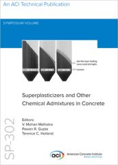 ACI-SP-302 Eleventh International Conference on Superplasticizers and Other Chemical Admixtures in Concrete