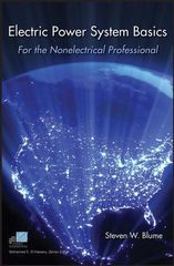 IEEE-12987-6 Electric Power System Basics for the Nonelectrical Professional (Video Presentation Available)